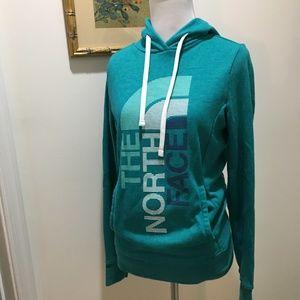 Green/Blue - Teal North Face Sweatshirt - Sz XS